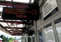 The next train from Irvine is for ... er ... North Berwick??<br><br>[John Yellowlees&nbsp;17/06/2014]