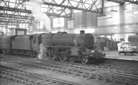 Kingmoor Black 5 no 44902 stands alongside Carlisle platform 4 on 13 July 1963, shortly after bringing in the noon arrival from St Enoch.<br><br>[K A Gray&nbsp;13/07/1963]