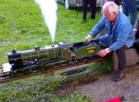 It's not every day you see Southern steam in Cumbria. Exchange trials, perhaps?<br><br>[Ken Strachan&nbsp;16/05/2014]