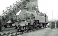 LMS Fowler 4P 2-6-4T no 42357 on Upperby shed in the summer of 1962.<br><br>[John Robin&nbsp;24/06/1962]