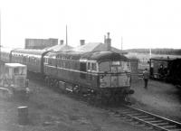 BLS/SLS <I>Scottish Rambler No 6</I> of 27 March 1967 stands at Smeaton behind D5317. [See image 4779]<br><br>[Bruce McCartney&nbsp;27/03/1967]