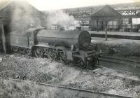 Gresley K2 2-6-0 no 61779 on shed at Fraserburgh on 5 August 1954. <br><br>[G H Robin collection by courtesy of the Mitchell Library, Glasgow&nbsp;05/08/1954]