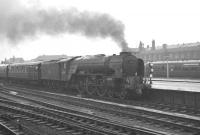 A1 Pacific 60130 <I>Kestrel</I> at Doncaster on 6 July 1963 with the summer Saturday 9.25am Yarmouth - Leeds Central.<br><br>[K A Gray&nbsp;06/07/1963]