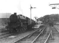 45432 calls at Newton Stewart on 5 September 1961 with the 3.40pm Stranraer - Dumfries.   <br><br>[David Stewart&nbsp;05/09/1961]