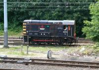 Wabtec 08472 at the west end of the yard at Craigentinny on 5 August 2014. <br><br>[John Furnevel&nbsp;05/08/2014]
