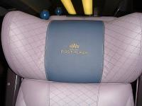 The motif now adorning the headrest of the new style first class leather seating being rolled out across the First Great Western HST fleet. <br><br>[David Pesterfield&nbsp;29/08/2014]