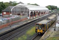 A Metro service for South Shields departing from Monkseaton on 25 September 2014.<br><br>[John Steven&nbsp;25/09/2014]