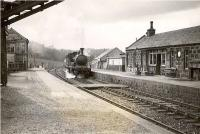 GNSR D40 4-4-0 62261 enters Strichen from the south on 20 May 1949.