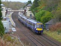 170452 speeds south through Gleneagles on 23 October.<br><br>[Bill Roberton&nbsp;23/10/2014]