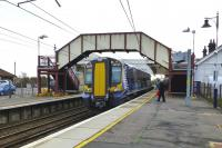 The 10.50 Ayr to Edinburgh calls at Troon on 29 October.<br><br>[Colin Miller&nbsp;29/10/2014]