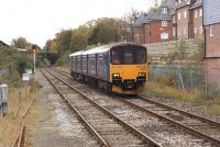 First Great Western DMU 150101 approaching Dorchester West on 24 October 2014 with a Weymouth to Gloucester service.<br><br>[John McIntyre&nbsp;24/10/2014]