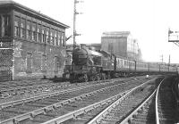 Parkhead V1 67655 on a Dalmuir - Springburn train at Sighthill Junction on 8 May 1956. <br><br>[G H Robin collection by courtesy of the Mitchell Library, Glasgow&nbsp;08/05/1956]