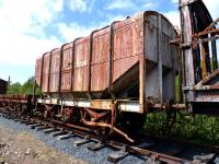 Scottish Grain Distillers of Windygates, Fife, wagon number 46, standing in the Ayrshire Railway Preservation Group sidings at Dunaskin on 29 May 2011. [See image 40579.]<br><br>[Colin Miller&nbsp;29/05/2011]