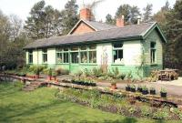 A surviving gem on the long closed 12 mile Allendale branch, which left the Newcastle and Carlisle line just west of Hexham, is the former station at Langley. The site was in use as a garden centre, gallery and cafe in May 2006. The station lost its passenger service in 1930 with the branch closing completely in 1950.<br><br>[John Furnevel&nbsp;10/05/2006]
