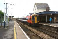 Looking west at Gillingham (Dorset) on 18 October 2014 as a pair of South West Trains Class 159 DMUs departs on a Waterloo to Exeter service.<br><br>[John McIntyre&nbsp;18/10/2014]