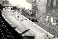 40153 passing Queens Park on 5 September 1957 with a train for Neilston High.  <br><br>[G H Robin collection by courtesy of the Mitchell Library, Glasgow&nbsp;05/09/1957]