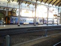 ScotRail 156478 in east end bay 1 at Newcastle Central on 3 December 2014 after arrival with the 07.45 ex Dumfries service.<br><br>[David Pesterfield&nbsp;03/12/2014]