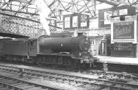 Canal based J39 0-6-0 no 64895 photographed shortly after arrival with a train at Carlisle station on 7 June 1962. These locomotives were regulars on the Langholm and Silloth branches, both of which closed in 1964.<br><br>[K A Gray&nbsp;07/06/1962]