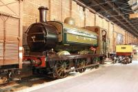 Great Northern Railway goods depot in the early part of the 20th century? The National Railway Museum, York, in the early 21st century, with ex-GNR J13 1247, forming part of a display. The locomotive, built by Sharp Stewart in 1899, was finally withdrawn from Kings Cross in 1959 as BR 68846 and became the first BR locomotive to be sold for preservation. [See image 17498]<br><br>[John Furnevel&nbsp;04/06/2013]