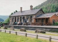 The stone-built station at Cymer - which saw DMU services until about 1970 - is now very well kept as a rather pleasant pub. There were some fascinating pictures of Hafodyrynys and other South Welsh coal mines on the walls when I visited. [See image 49912]<br><br>[Ken Strachan&nbsp;31/05/2010]