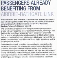 FirstInsight, January 2010. Airdrie-Bathgate item.<br><br>[First ScotRail&nbsp;/01/2010]