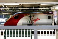 A Virgin Pendolino service for Glasgow Central stands at London Euston in July 2005.<br><br>[John Furnevel&nbsp;23/07/2005]