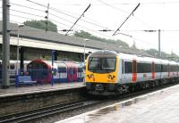 District, Central and main line trains at Ealing Broadway - July 2005.<br><br>[John Furnevel&nbsp;20/07/2005]