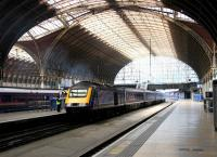<I>Not bad Mr Brunel... not bad at all...</I>  The Great Western Railway's London terminus at Paddington, seen from the concourse on 20 July 2005.<br><br>[John Furnevel&nbsp;20/07/2005]