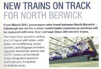 FirstInsight, January 2010. North Berwick Item<br><br>[First ScotRail&nbsp;/01/2010]