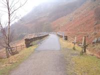 Glenoglehead Viaduct viewed from the trackbed looking south, October 2004.<br><br>[John Gray&nbsp;//]