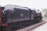 44767 <I>George Sephenson</I> stops at Arisaig on its way to Mallaig in the summer of 1994.<br><br>[John Gray&nbsp;//]