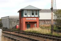 Formerly Mallaig Junction, now Fort William Junction. The recently repainted signal box looking resplendent on 30 September 2005.<br><br>[John Furnevel&nbsp;30/09/2005]