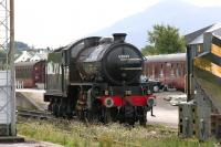K1 2-6-0 62005 (carrying the nameplates of K4 61996 <I>Lord of the Isles</I>) standing on Fort William shed in September 2005.<br><br>[John Furnevel&nbsp;29/09/2005]
