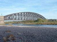 Main Span of Spey Bay Viaduct viewed from the south, 14/10/05.<br><br>[John Gray&nbsp;14/10/2005]