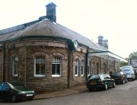Alnwick station frontage - May 2004.<br><br>[John Furnevel&nbsp;23/05/2004]