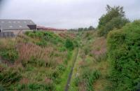 Looking north to the future site of Merryton station. Taken before reinstatement began.<br><br>[Ewan Crawford&nbsp;//1997]