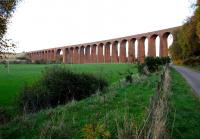 Culloden Viaduct from the west in October 2005.<br><br>[John Furnevel&nbsp;31/10/2005]