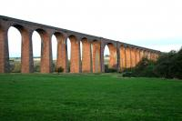 The stately Culloden Viaduct from the east in October 2005.<br><br>[John Furnevel&nbsp;31/10/2005]