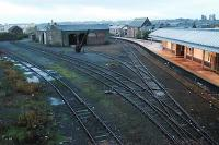 Looking north at the old goods yard at Arbroath and out of use platform.<br><br>[Ewan Crawford&nbsp;//2005]