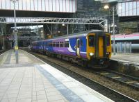 Northern 156421 arrives at Liverpool Lime Street on 22 December 2014.<br><br>[Veronica Clibbery&nbsp;22/12/2014]