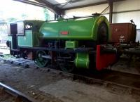 A little on the low side - a closer look at former Port of Par 0-4-0ST  locomotive <I>Judy</I> [Bagnall 2572/1937] at Bodmin in November 2014 [see image 29956].<br><br>[Ken Strachan&nbsp;29/11/2014]
