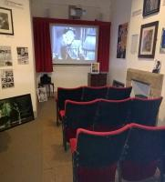 The  film <I>'Brief Encounter'</I> seems to be playing continuously at this mini-cinema in the museum in the Carnforth station building. My wife assures me that the seats are very comfortable.<br><br>[Ken Strachan&nbsp;28/01/2015]