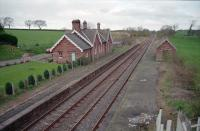 The former Cumwhinton station looking north to Carlisle in 1998.<br><br>[Ewan Crawford&nbsp;//1998]