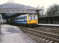 142068 departing from Beverley for the north on 25 March 1989.<br><br>[Peter Todd 25/03/1989]