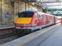 DVT 82219 at the head of the 12.00 train for London Kings Cross at Waverley on 3 March 2015.<br><br>[Bill Roberton&nbsp;03/03/2015]