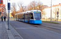 Road-rage tram? Gothenburg 14 March 2015.<br><br>[Colin Miller&nbsp;14/03/2015]