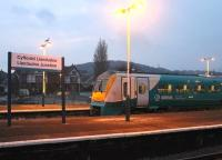 First light at Llandudno Junction on 16th March with ATW 175115 idling in Bay Platform 2 before departing along the short branch to Llandudno. <br><br>[Mark Bartlett&nbsp;16/03/2015]