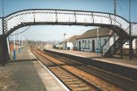 Smell the Highland air in this study of Dalwhinnie station, looking north, in May 1997.<br> <br><br>[David Panton&nbsp;11/05/1997]