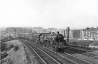 73055 at Cathcart North Junction on 30 August 1957 with a train for Whitecraigs.