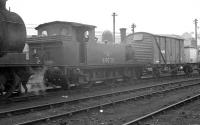 J72 0-6-0T no 69028 stabled on Heaton shed on 25 May 1963.<br><br>[K A Gray&nbsp;25/05/1963]